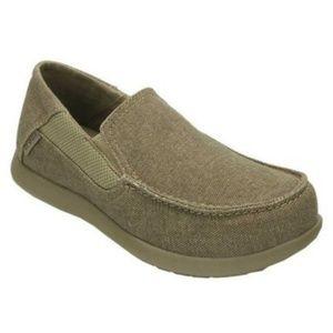 Croc Santa Cruz Loafer Boys size 6